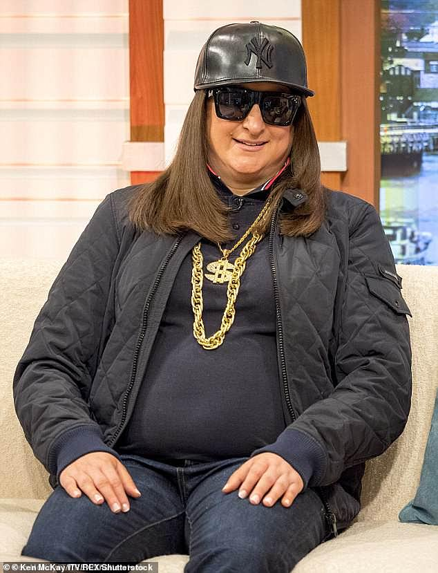 Transformed:The singer showed off her new look after completing a charity triathlon (pictured before her weight loss in 2016)