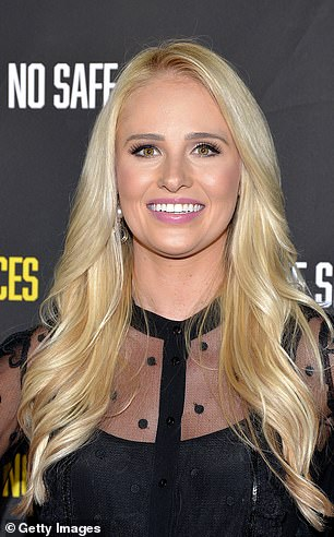New flame: Tomi denied she was dating anyone on her Twitter the night before