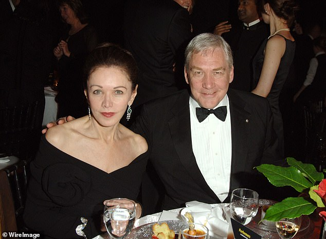 Barbara Amiel and Conrad Black during Macleans Magazine Celebrates Its 100th Anniversary Gala at Toronto Centre for the Performing Arts in Ontario, Canada