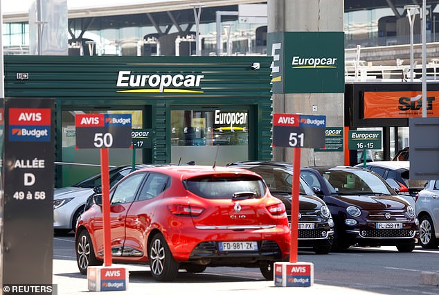 It found that a week¿s cover in Malaga cost £203 with Europcar, the most expensive provider (file photo)