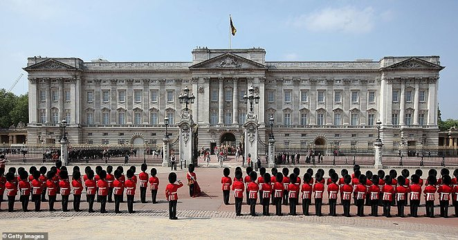 The White House were told that Buckingham Palace (above) was under renovation, with some royal household members being moved out, but Mr Trump reportedly still asked to stay overnight