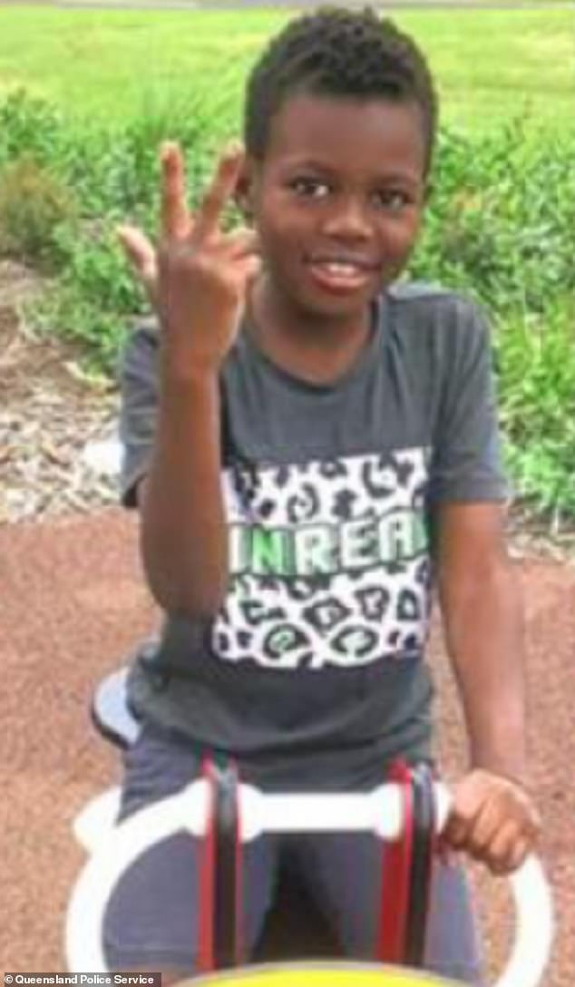 The six-year-old boy has a dark complexion with short black hair and was last seen wearing a blue shirt and tan pants