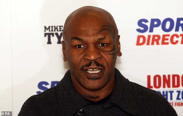 Now aged 54, Tyson is set to return to the ring to take on Roy Jones Jr in a comeback bout