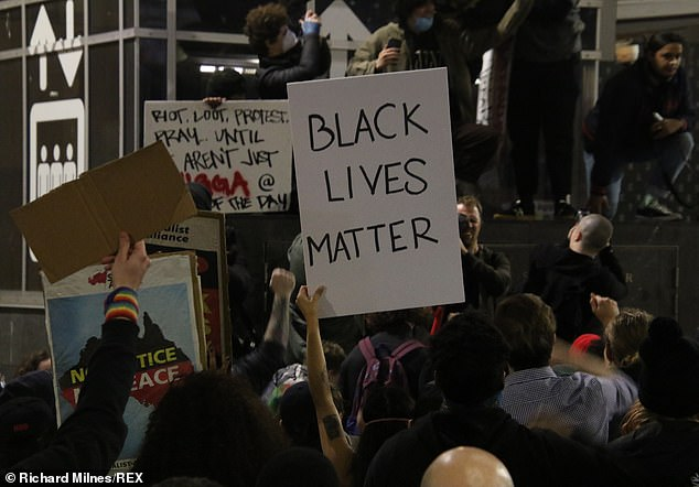 The Australian Communist Party organised a protest in memory of George Floyd and to highlight Aboriginal rights issues and the black lives matter campaign