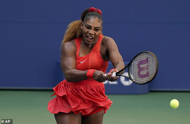 Serena Williams recovered from a slow start to see off American compatriot Sloane Stephens