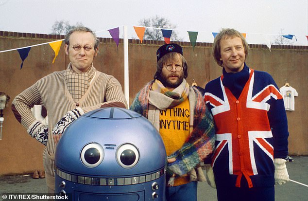 Funnyman:Oddie found fame in the 1970s as a member of comic trio The Goodies, alongside Tim Brooke-Taylor and Graeme Garden