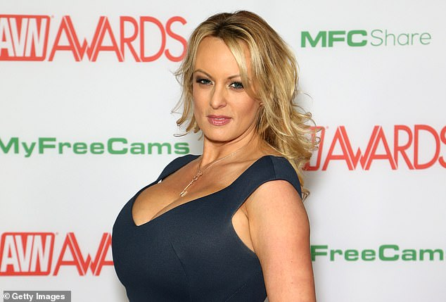 Cohen wrote that Trump allegedly said that his supporters would 'think it's cool that I slept with a porn star,' of the Stormy Daniels (in 2019) payoff scandal