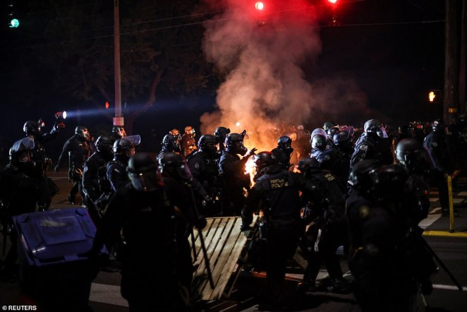 The Portland Police Bureau revealed in a press release that 27 people were arrested between Friday night and Saturday morning after protesters refused to vacate area