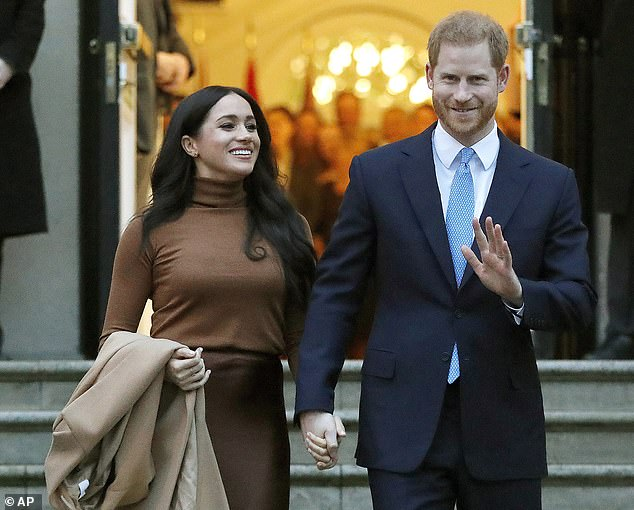 The Duke and Duchess of Sussex, who moved to Santa Barbara, California last month, signed a deal with the streaming service this week for their new yet-to-be-named production company to make documentaries, feature films, scripted shows and children's programming. They are pictured in London in January