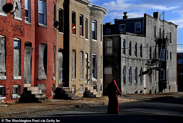 In the clip, Klacik claimed to walk the ¿real Baltimore¿ to show the ¿reality for black people¿ in the historic town
