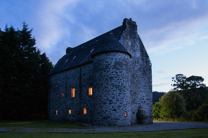 Stef and Simon bought Kilmartin Castle for £330,000 and spent seven months renovating it with the help of architects, skilled restorers and builders, and a dollop of determination