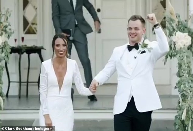 I do! After nearly five years together, American Idol's Clark Beckham and Chanlie Baker wed in an intimate ceremony, which was initially postponed due to the pandemic