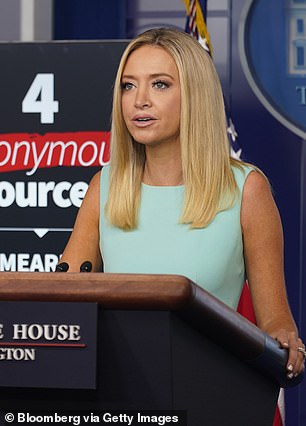 White House press secretary Kayleigh McEnany revealed Lyons¿ and Walsh¿s admonishment of the claims in a Friday press conference in which she read out a statement on their behalf.