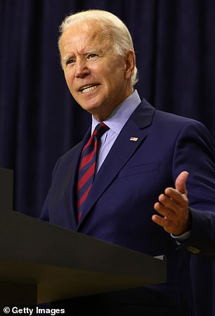 Pictured: Joe Biden