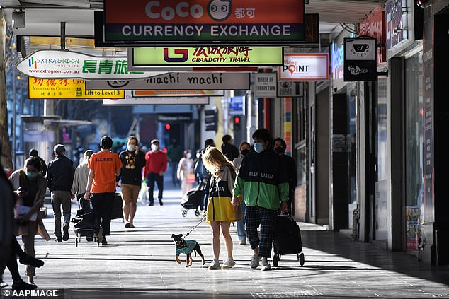 Victorian hotel owners have slammed Daniel Andrews' road map to recovery from coronavirus restrictions. Pictured: Melbourne on Sunday
