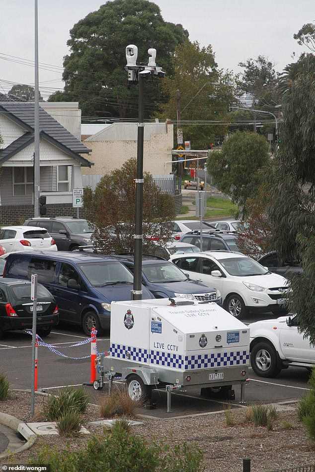 Victoria Police have set up spy vans around Melbourne parks to catch people breaking the lockdown rules
