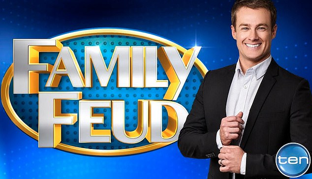 Ms Michael's lawyers said Ten paid out the producer for 12 weeks when she was owed 90 weeks. Pictured: Host of Family Feud Grant Denyer