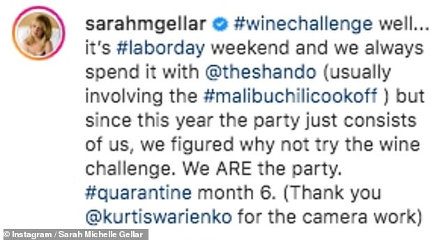 Having fun: The actress joked that she and pal Shannen 'are the party' as they celebrated Labor Day weekend