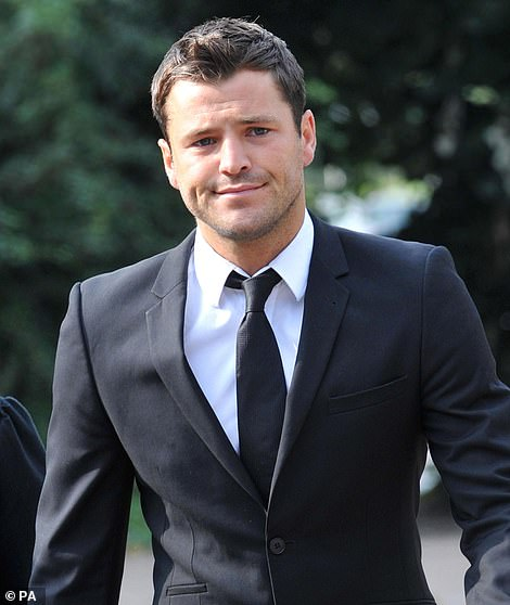 Cleared: In January 2011, Mark Wright was hurled into court after being accused of using threatening behaviour outside a nightclub (pictured outside Redbridge Magistrates Court, Ilford, at the time)