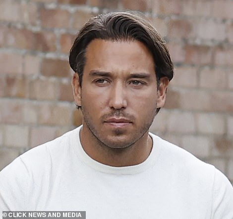 Drug shame: In Feburary 2014, James Lock was arrested on suspicion of possessing Class A drugs and criminal damage after he and another male were involved in a dispute with a taxi driver in Dagenham, Essex (pictured last month)