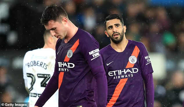 The pair will see a period of self-isolation, with City's first game in two weeks.