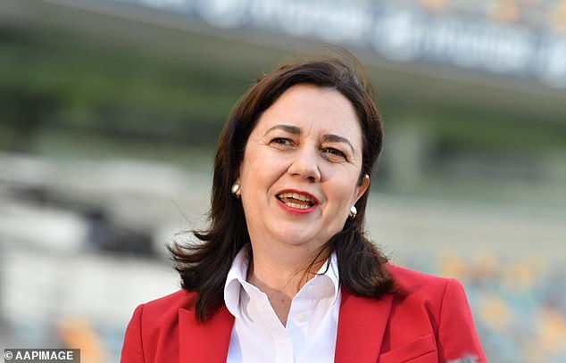 Justine McNally has beggedQueensland Premier Annastacia Palaszczuk (pictured) for a border exemption to be able to see her son Henry in the school holidays