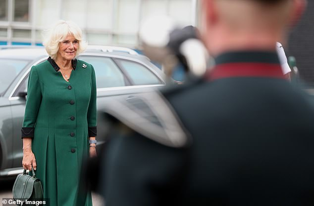 Camilla was appointed Royal Colonel of 4th Battalion The Rifles in 2007 and continues to hold that position