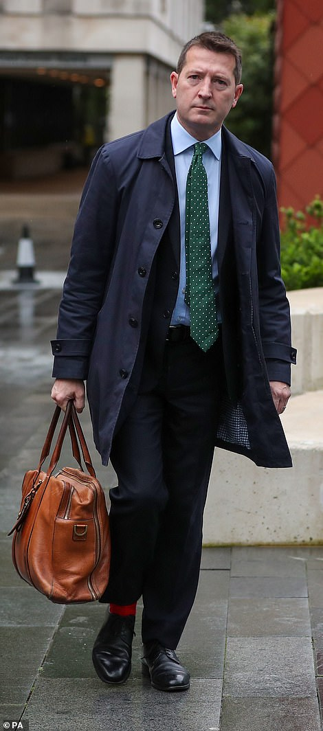 Paul Greaney QC (pictured), counsel to the inquiry, read the names of each of those murdered