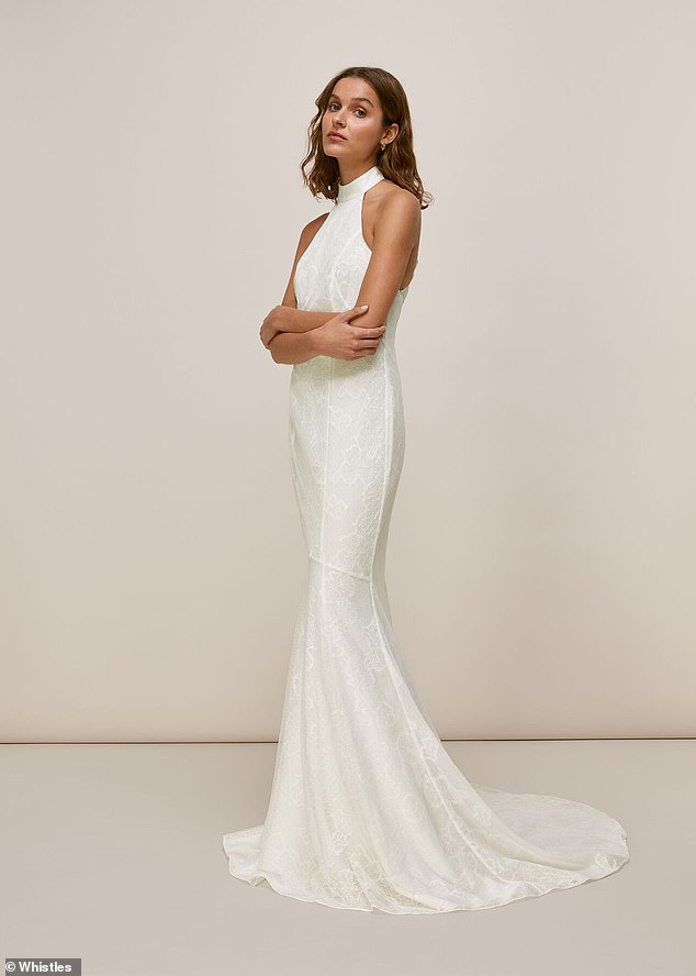 BEST FOR A DESIGNER LOOK:Crafted from lace in a halter design that reveals an open back, the Maria manages to be both timely and timeless. It will skim your frame and cinches in at the waist for added definition. The classic style makes it look far more expensive than its price tag