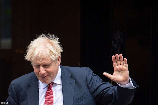 Boris Johnson has sparked a furious war of words with the EU over its plans to protect against border chaos in Northern Ireland in the event there is no trade deal agreed by the end of the year