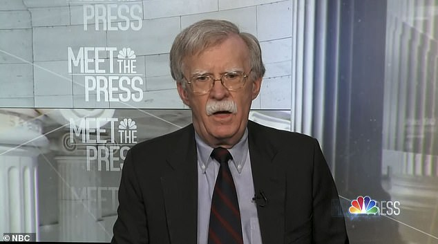 """Former National Security Advisor John Bolton told Bloomberg Radio, 'I have not heard anybody say, """"Oh, that doesn't sound like the Donald Trump I know,""""' about The Atlantic's reporting that Trump called servicemembers 'losers' and 'suckers'"""