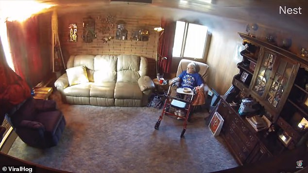 Lawrence Peters had to be rescued by a relative from a fire at his Colorado home after failing to realize his 88th birthday candles had set the room alight