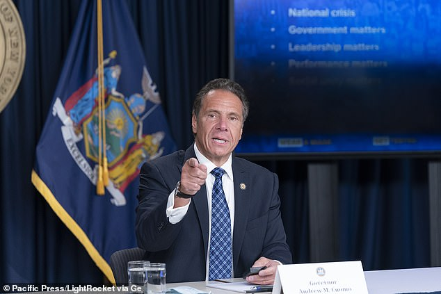 'Thanks to the hard work of New Yorkers, our state has now gone a full month with our COVID infection rate remaining below one percent,' Gov. Andrew Cuomo said Monday, urgingNew Yorkers to 'remain smart' the rest of Labor Day Weekend