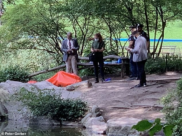 The body belonged to an adult male who has not been identified yet