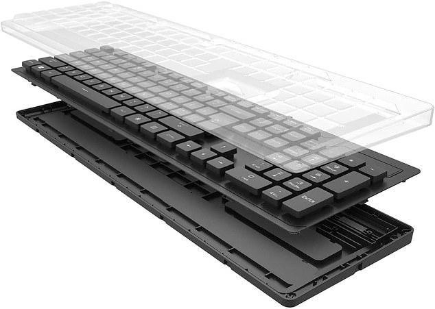 AccuMed 105 Key Sealed Antibacterial Medical Keyboard, £88.77
