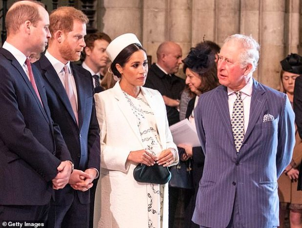 This, too, marks a fork in the road for Harry and Meghan, although insiders suggest they may have already received the full amount of stipend expected from Charles for this year.