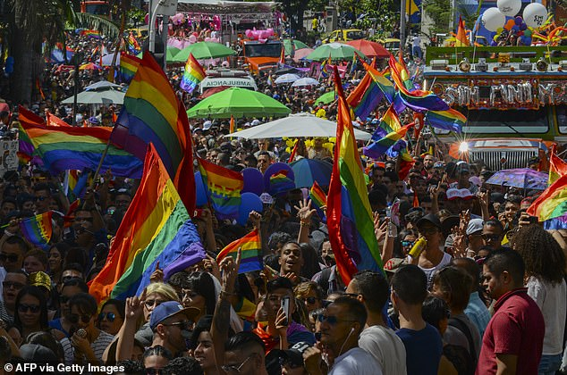 Same-sex marriage has been legal in Colombia since April 2016