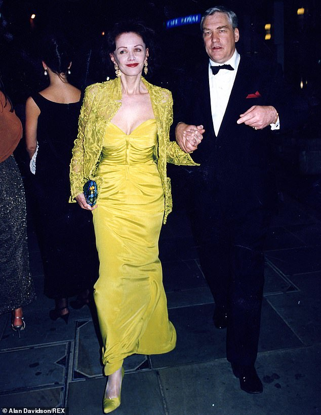 Having it all: The Blacks step out as hosts of a society party in 1996.In our first extract from her blistering new memoir, Barbara Amiel, wife of media tycoon Conrad Black, recalled how she and her husband ¿ once the toast of London and New York society ¿ became social outcasts after Black was jailed by a U.S. court for fraud and obstruction of justice