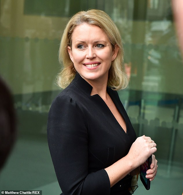 Ms Robinson made headlines in July over her role as Amber Heard's barrister in Johnny Depp's libel case against The Sun newspaper in London. She is pictured during a hearing for Julian Assange in 2019