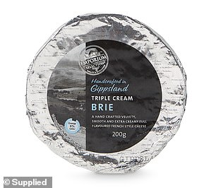 In the 'Life of the Party' bracket, Aldi's Emporium Selection Brie or Camembert Cheese, which costs just $4.49, was crowned the winner (pictured)