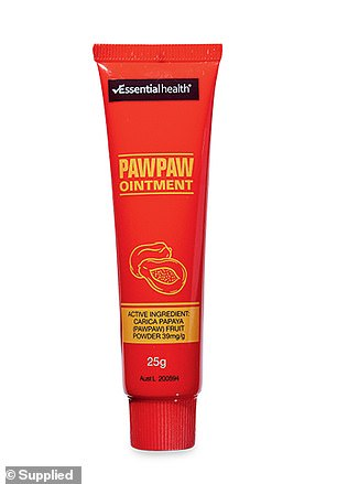 The Essential Health Paw Paw Ointment ($2.79) was named best in the 'Daily Glow' category, with shoppers revealing they use it for everything (pictured)