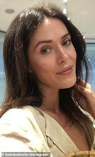 Seeing double! With Madeline's [L] luscious brunette locks, pretty features and toned, statuesque physique bearing a striking resemblance to designer ex Kate Fowler's [R] striking good looks, it appears the 48-year-old certainly has a type