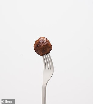 The new plant ball was created to look and taste exactly the same as the original meatball, but with sustainable plant-based ingredients