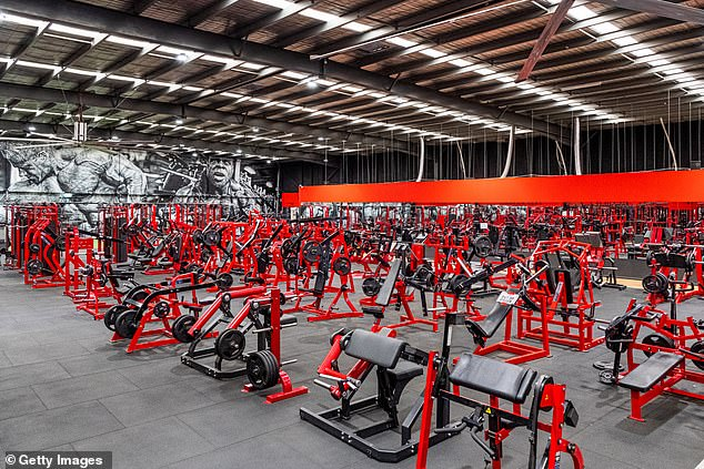 This Muscle City Gym in Melbourne's south-east was among thousands across Australia that became deserted when the first lockdown shutdowns hit in March