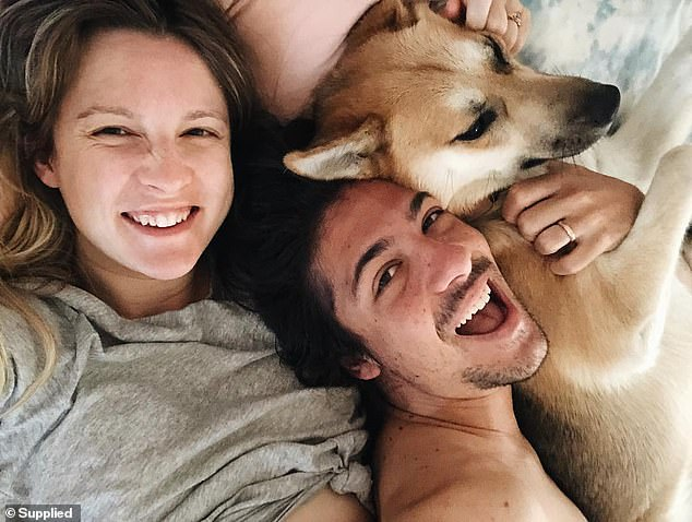 Josh and Maggie enjoy their last days as a duo in February 2019, one month before Remy was born