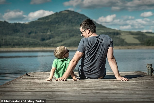 On Sunday across the country millions of dads celebrated the occasion with perhaps a well-earned sleep-in and a present or two from their youngsters (stock image)