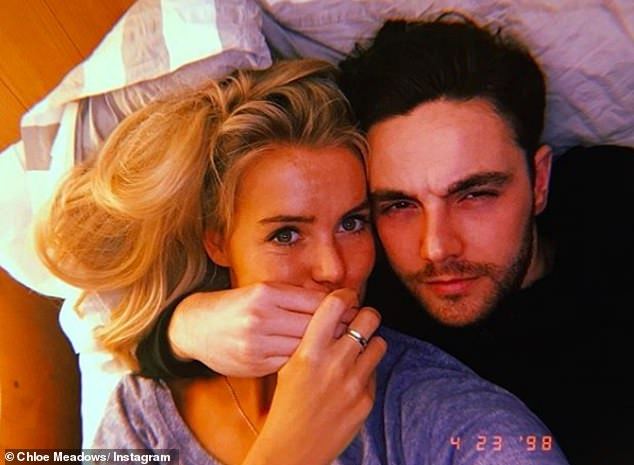 Put a ring on it:Although the pair are focusing on finding a house together first, Chloe confessed that she does expect a proposal soon
