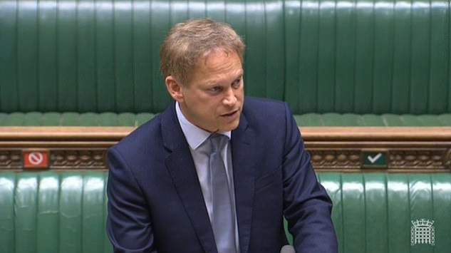 Grant Shapps told the Commons that he was stopping short of following Scotland's example by slapping restrictions on arrivals from Greece as a whole