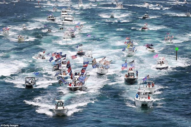 The large amount of traffic on the water caused difficult sailing conditions, leading to a number of incidents over the weekend during the parades