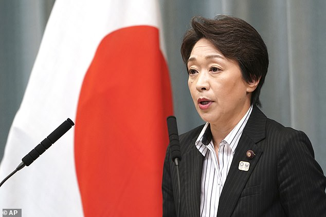 Seiko Hashimoto said officials were increasing efforts against COVID-19 to ensure its success
